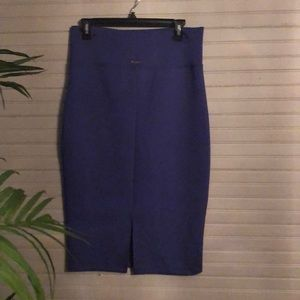 New Without Tags Purple Bebe Pencil Skirt